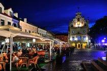 Restauracyjne ogródki na rzeszowskim rynku