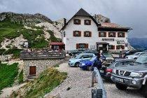 Rifugio Passo Valparola