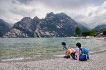 Rodzinne klimaty nad jeziorem Garda