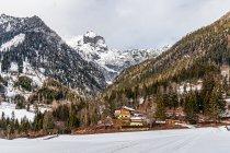 Rössing z trasy narciarskiej