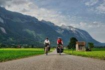 Rowerami przez Szwajcarię