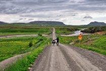 Rowerami przez zieloną Islandię