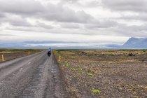 Rowerem do lodowca Vatnajökull