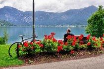 Rowerem nad jeziorem Lago di Caldonazzo