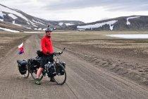 Rowerem po górach Islandii
