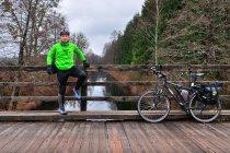 Rowerem wzdłuż Kanału Augustowskiego
