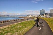 Rowerowa autostrada w Reykjaviku