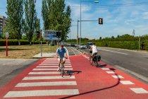 Rowerowa infrastruktura w Bolonii