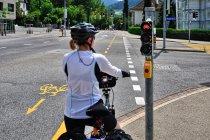 Rowerowa infrastruktura w Chur
