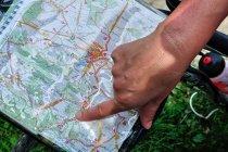 Rowerowa Jura na mapie