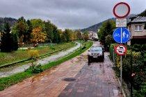 Rowerowa trasa w Szczyrku