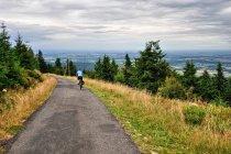 Rowerowe asfalty Gór Izerskich