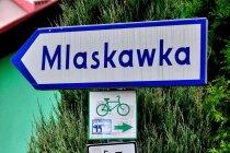 Rowerowe drogowskazy w Beskidzie Śląskim