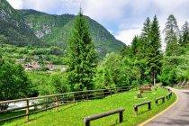 Rowerowe miejsce odpoczynku w Val di Sole