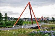Rowerowe mosty przed Reykjavikiem