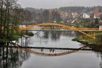Rowerowy most na Brdzie w Męcikale
