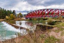 Rowerowy most nad Czarnym Dunajcem