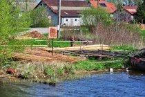 Rybackie prace w Starej Pasłęce