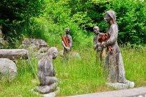 Rzeźby koło Tione do Trento