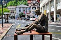 Rzeźby na ulicach Bad Ragaz