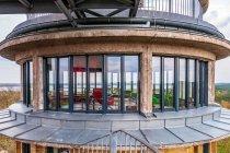 Salon na ostatnim piętrze dawnej wieży ciśnień