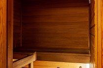Sauna w pokoju w hotelu Sokos