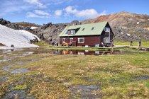 Schronisko górskie w Landmannalaugar
