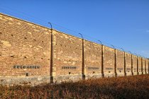 Ściana pamięci w Ravensbrück
