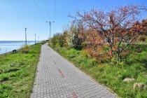 Ścieżka rowerowa między Kuźnicą a Chałupami