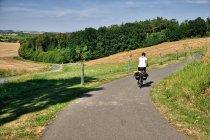 Ścieżka rowerowe przed Velehradem