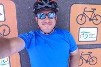 Selfie z Wiślaną Trasą Rowerową