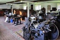 Skansen drukarski przy szlaku