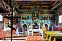 Skwirtne - ikonostas w cerkwi