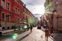 Słońce na ulicach Parmy