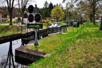 Śluza na kanale Werbellin