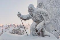 Słynny fiński biegacz Kalevi Oikarainen w Ruce