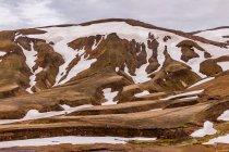 """Śnieg w górach """"tęczowych"""""""