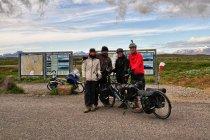 Spotkanie z Polakami przy wodospadzie Gullfoss