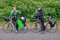 Spotkanie z rowerzystami z Polski