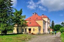 Stacja kolejowa w Łupkowie