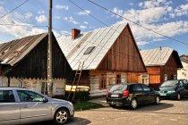 Stare domy w Jaśliskach