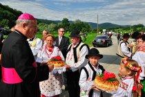 Staropolskie powitanie gości
