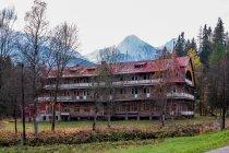 Stary hotel w Zdziarze