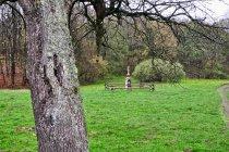 Stary krzyż w Nieznajowej w Beskidzie Niskim