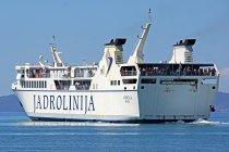 Statek linii Jadrolinija. Fot. Dennis Jarvis