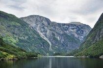 Statkiem po Naeroyfjordzie