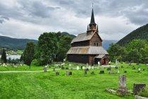 Stavkirke - kościół klepkowy w Kaupanger