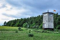 Strażnica na dawnej granicy wewnątrz Niemiec