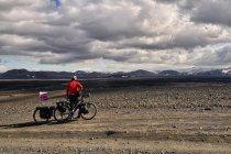 Surowa, kamienista Islandia