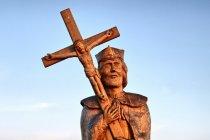 Św. Jan Nepomucen w porcie w Ustce